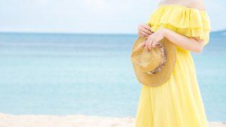 30代の明るいイエローワンピース|元気が出る黄色のドレス