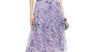 大人の花柄ドレス|マルケッサの高級パーティードレス4選